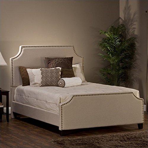 - Hillsdale Dekland Collection Bed Set, Queen, Linen Stone