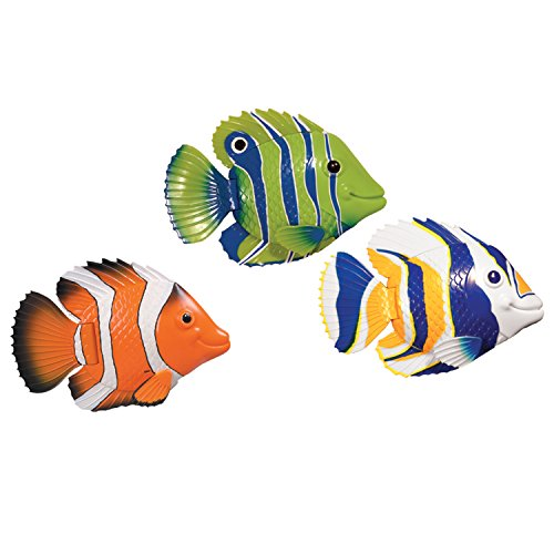 (SwimWays Rainbow Reef Fish Interactive Pool Toy)