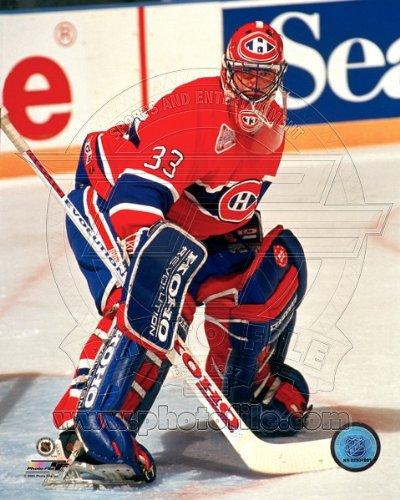Patrick Roy Montreal Canadiens NHL Action Photo 8x10 #35