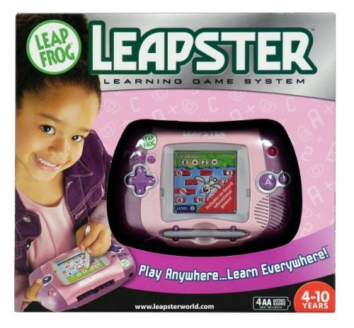 LeapFrog Leapster Learning Game System - Pink by LeapFrog (Image #3)