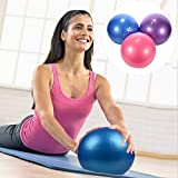 Mini Exercise Ball – 25cm / 9″ – for Fitness, Stability, Barre, Pilates, Yoga, Core Training and Physical Therapy For Sale
