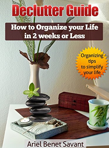 Declutter Guide: How to Organize Your Life in 2 Weeks or Less: Get Rid of the Clutter & De clutter Systematically - Learn How to Live Clutter free & Tame the Clutter bug (Put The Recycle Bin In The Recycle Bin)