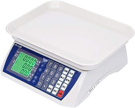 Opinión sobre LIANYANG Básculas de Alimentos de Cocina Báscula electrónica precisa Digital Báscula de Cocina Báscula Digital de Verduras 30 kg Plástico ABS