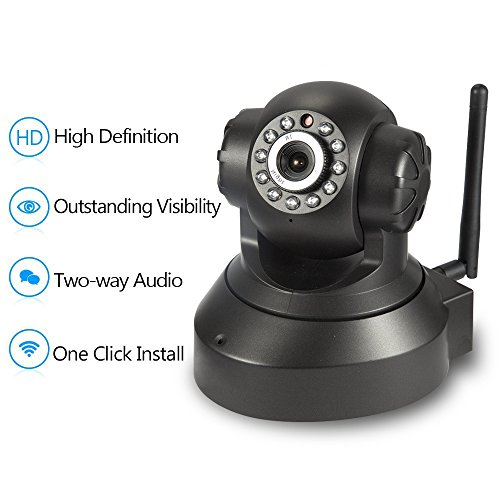 NEW VERSION TENVIS IP Camera -720P IP Camera Supporting Smart Wi-Fi, Night Vision Camera, Smart Camera for Pet Baby Monitor, Home Security Camera Motion Detection Indoor Camera with Micro SD Card Slot by TENVIS (Image #9)