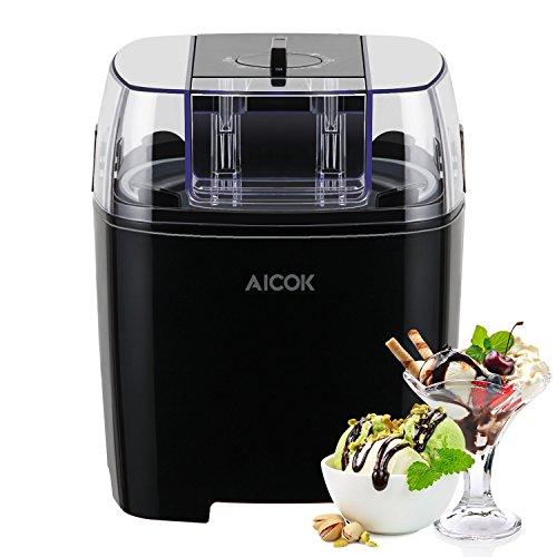 Aicok 1.5 Quart Ice Cream Maker Machine Frozen ...