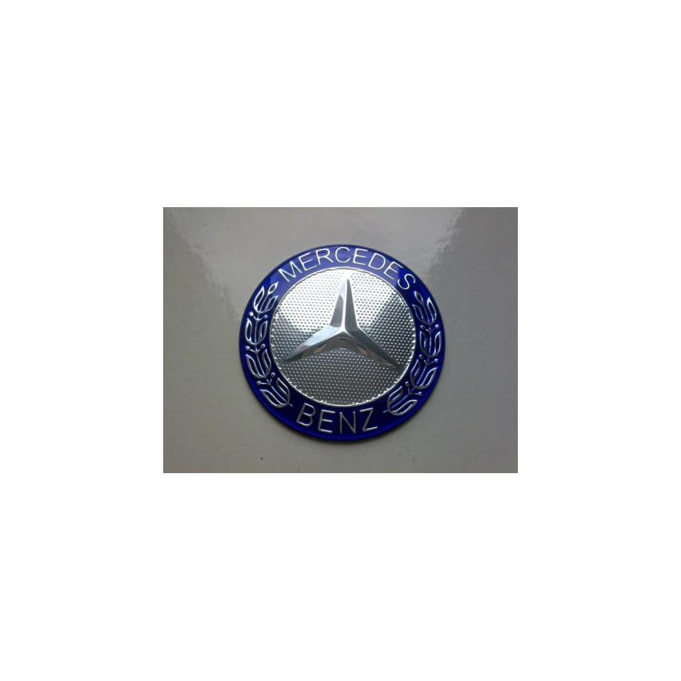 Mercedes Benz Steering Wheel Horn Badge / Plaketten Aufkleber Embleme Logo für die Lenkrad Emblem Mercedes 52 mm NEU Küche & Haushalt