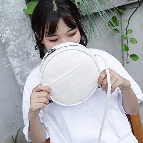 al Blanco hombro Sintética Piel mujer de Widewing Bolso para Sqvz1zR