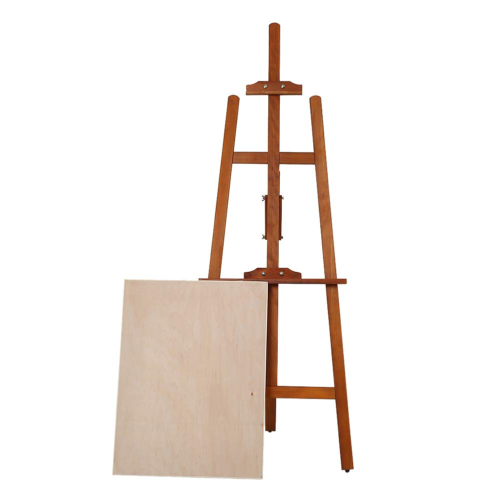 床/テーブルトップの描画と表示のためのボードイーゼルと折り畳み木製イーゼル三脚のディスプレイ   B07H3QMQNZ