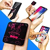 #2: Clean Screen Wizard Screen Cleaner Microfiber Sticker - Cleaning Pad for Smart Phone & Small Portable Electronic Devices- Wireless Kit Size Small 1 ¼ x 1 ¼ inches (3 x 3 cm) Seal Boat