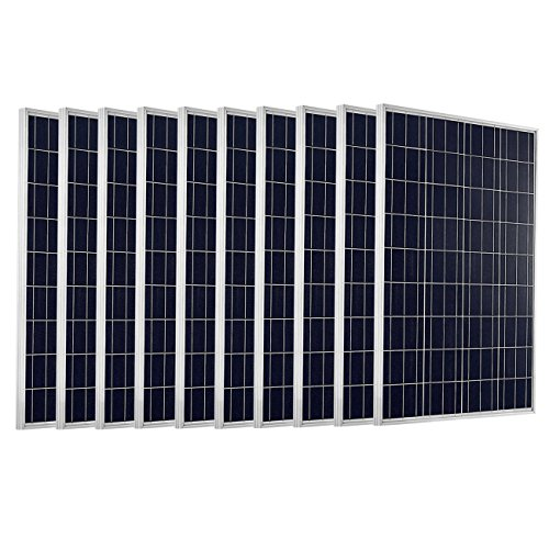 ECO-WORTHY-1KW-10pcs-100-Watts-12-Volts-Solar-Panel-Module-for-Home-Solar-System