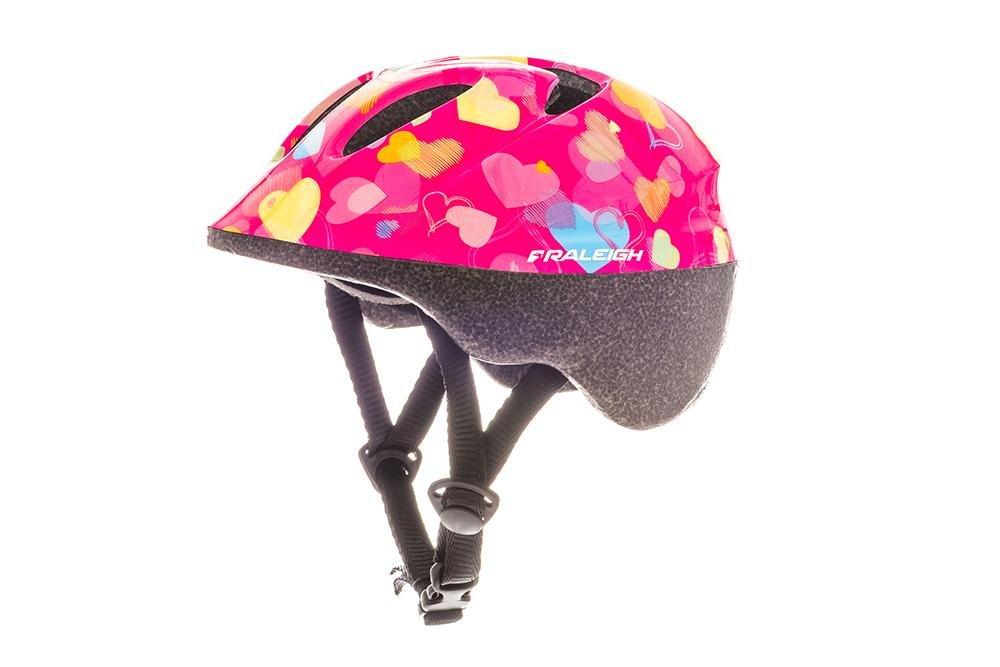 RALEIGH Kids 'Rascal Hearts Casque de Vélo, Multicolore, 44–50cm 44-50cm CSH1207