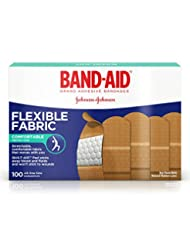 Band-Aid Brand Flexible Fabric Adhesive Bandages For Minor Wo...