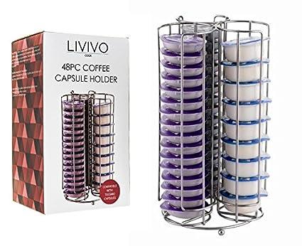 Soporte para cápsulas de café Livivo®, soporte para organizar y mostrar