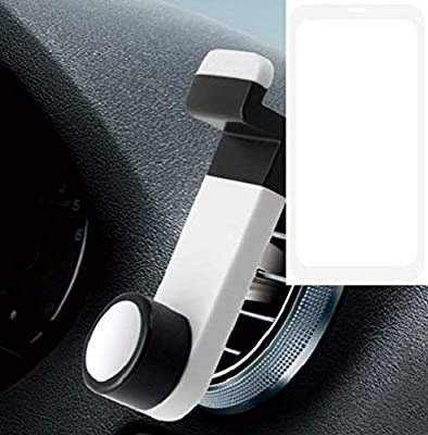 K-S-Trade® Smartphone Universal Holder Holder/Car Montaje/Parabrisas para El Apple iPhone SE 2. Blanco. Titular De Teléfono De La Rejilla De Ventilación Se Puede Utilizar con Los Teléfonos: Amazon.es: Electrónica