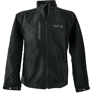 Zerimar KENROD Chaqueta de neopreno para hombre Modelo softshell con forro transpirable Color negro Talla S