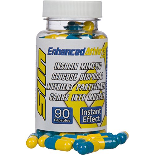 Enhanced Athlete Slin - Turn Carbohydrates into Muscle for Peak Performance- Extreme Insulin Mimetic and Nutrient Partitioner to Increase Muscle Growth and Lean Mass- 90 Capsules