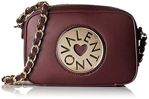 Valentino by Mario Valentino Women's Olympia Cross-Body Bag Red (Bordeaux 069)