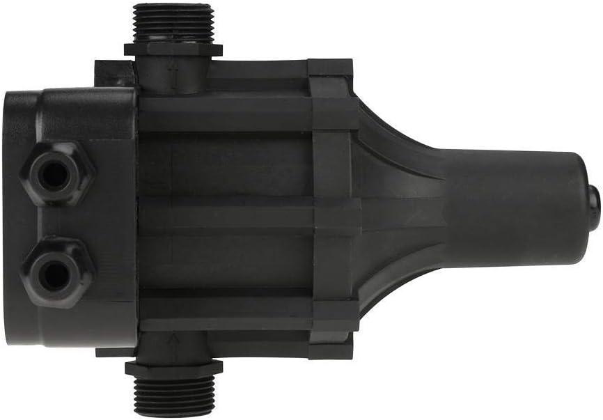 KSTE 220V Self Priming Black Water Pump Pressure Regulator Automatic Pressure Switch