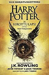 Harry Potter ja kirottu lapsi on J.K. Rowlingin, John Tiffanyn ja Jack Thornen luoma uusi tarina, jonka on näytelmäksi kirjoittanut Jack Thorne. Se on kahdeksas Harry Potter -tarina ja virallisesti ensimmäinen, josta on tehty näytelmäversio. ...