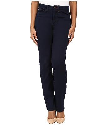 1e242370aab FDJ French Dressing Jeans Women s Petite Suzanne Straight Leg Love Denim in  Indigo Indigo Jeans