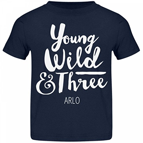 Price comparison product image Arlo Is Young Wild & Three: Jersey Toddler T-Shirt