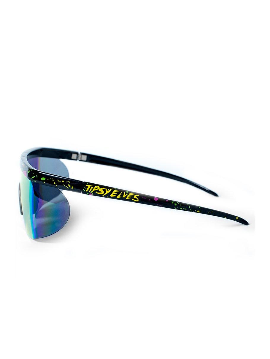 Performance Style Neon Hundo P. Reflective Sunglasses by Tipsy Elves (Image #3)