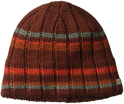 Columbia Men's Utilizer Hat, Deep Rust, One (Columbia Sportswear Fleece Hat)