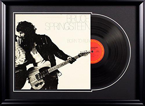 Vintage Favs Bruce Springsteen Born to Run Deluxe Framed Vintage Vinyl Album by Vintage Favs