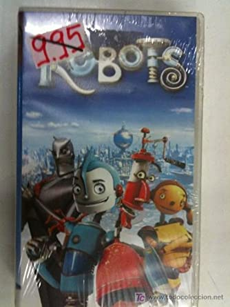 VHS ROBOTS DIBUJOS ANIMADOS