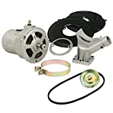 EMPI 9446 New 55 Amp Alternator Conversion Kit With Pulley & Belt, Vw Baja Bug