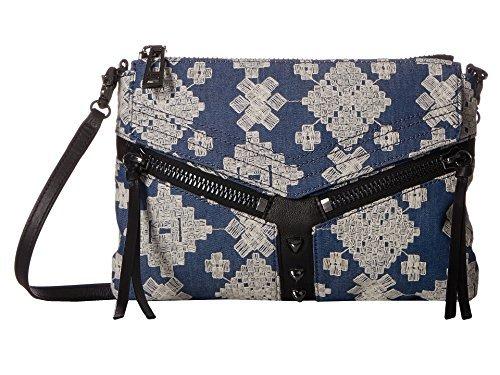 Botkier Women's Trigger Crossbody Indigo Jeans Crossbody Bag