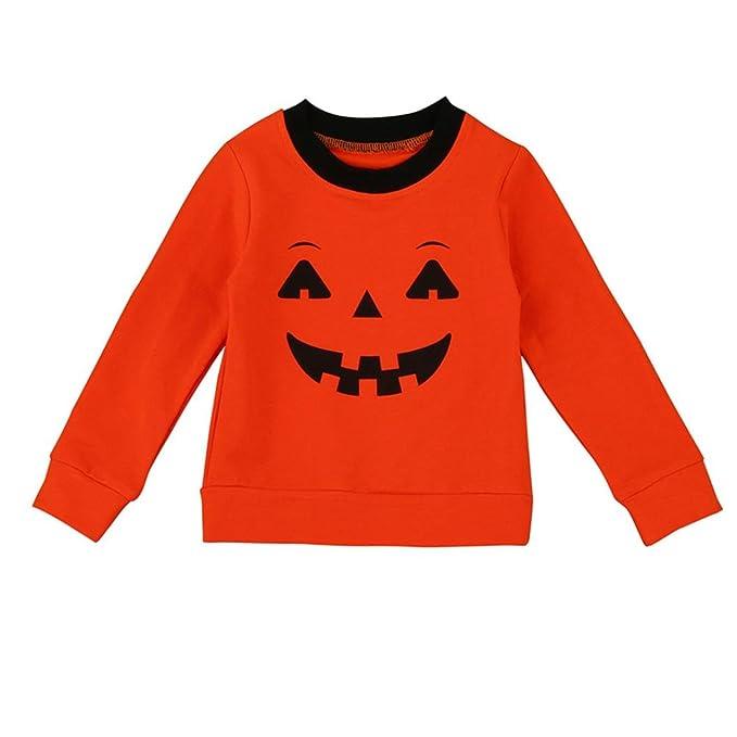 Yannerr Ropa de la familia de Halloween madre de los padres-niño camiseta Tops blusa