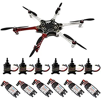 Amazon Com Qwinout F550 Rc Hexacopter Drone Arf Upgrade