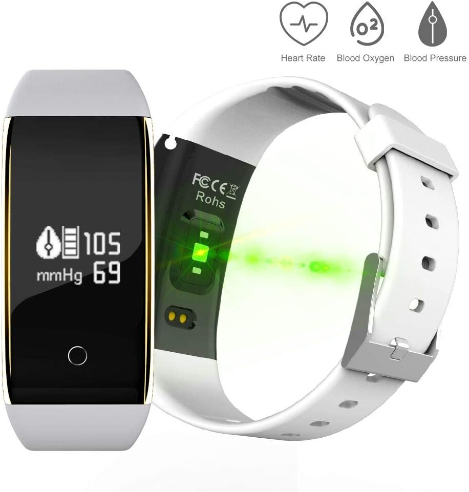 Pulsera Inteligente con Pulsómetro, Activity Tracker Bluetooth ...