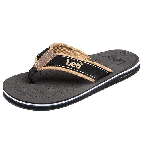 Chancletas para Hombre Sandalias Suaves Tangas de Verano cómodas para Caminar Zapatillas para Hombre Personalidad Casual Pies Antideslizantes Sandalias de ...