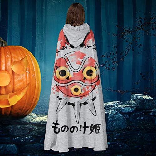 Aisfgbj Wolf Girl Mask Princess Mononoke Unisex Christmas Halloween Witch Knight Hooded Robe Vampires Cape Cloak Cosplay Costume Amazon Co Uk Pet Supplies