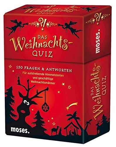Das Weihnachts-Quiz: 150 Fragen und Antworten für aufstrebende Himmelsboten und geschäftige Weihnachtsmänner