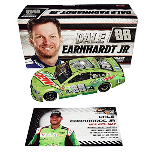 AUTOGRAPHED 2017 Dale Earnhardt Jr. #88 Mountain Dew/Ride for sale  Delivered anywhere in USA