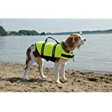 Paws Aboard Doggy Life Jacket Large-Safety Neon Yellow