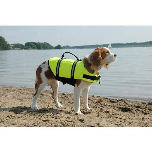 Doggy Life Jacket Size: Extra Extra Small (Dogs up to 6 - Life Yellow Doggy Jacket
