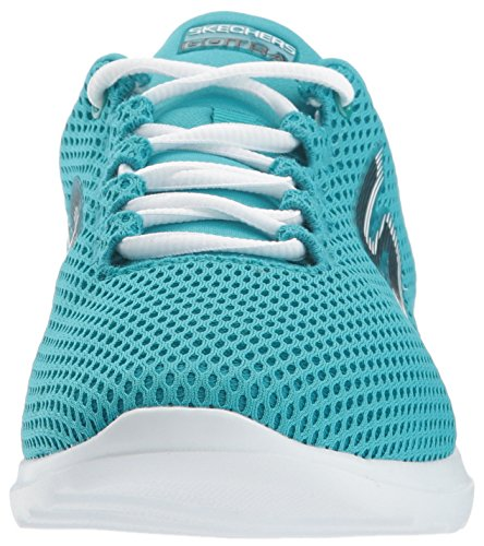 Turquoise Femme Chaussures Running hype Go De Skechers Train HAqTO0O