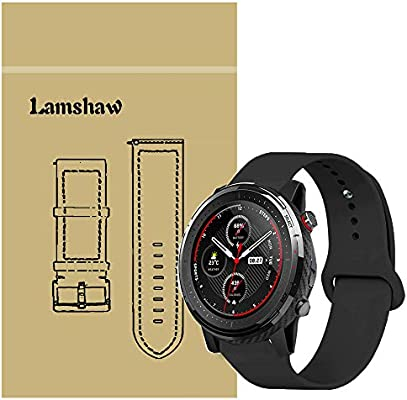 Amazon.com: for Amazfit Stratos 3 Bands, Blueshaw Sport ...