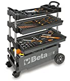 BETA TOOLS C27S-G FOLDING TOOL TROLLEY FOR PORTABLE USE - GRAY