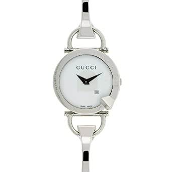 2ca6017a96c GUCCI CHIODO 122 LADIES WATCH YA122501  Amazon.co.uk  Watches