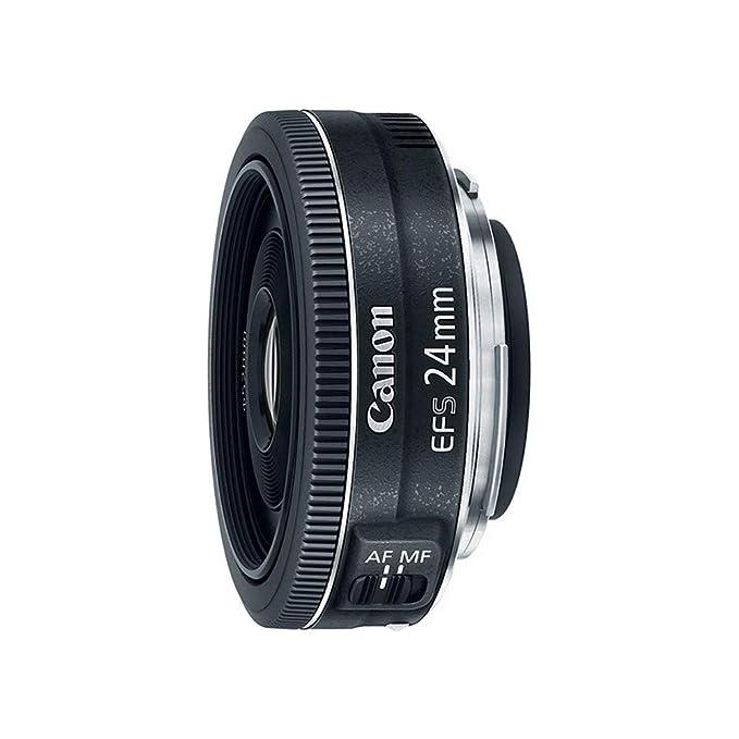 Renewed  Canon EF S 24mm f/2.8 STM Lens DSLR Camera Lenses