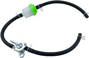 GOOFIT Fuel Hose Oil Filter Petrol Switch for 50cc 110cc 125cc 150cc 250cc ATV Pit Dirt Bike Green