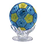 61 Thermolove 3D Decoration Model Toy Crystal Puzzle Game Toy Football Cup/World Cup-Blue