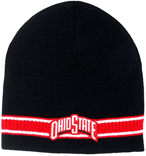 Ohio State Buckeyes Men's Dash Knit Beanie (Black)