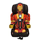 Cheap KidsEmbrace Iron Man Booster Car Seat, Marvel Avengers Combination Seat, 5 Point Harness, Red