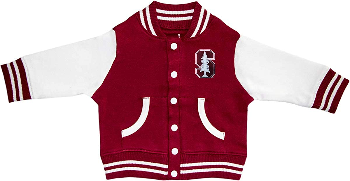 Creative Knitwear Stanford University Varsity Jacket